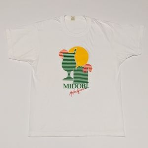 80s Midori Melon Liqueur Single Stitch T-shirt